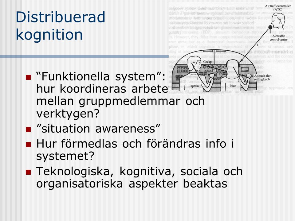 Distribuerad kognition
