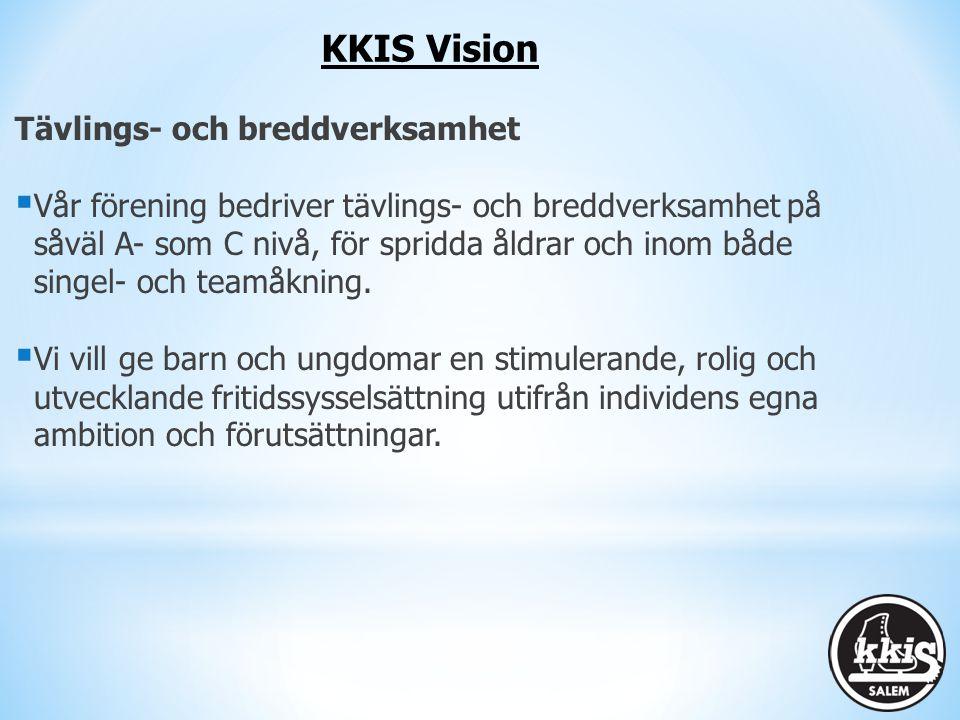 KKIS Vision Tävlings- och breddverksamhet