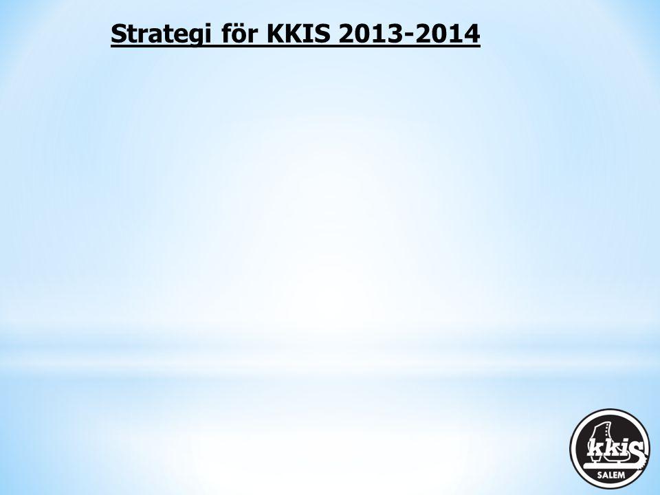 Strategi för KKIS 2013-2014