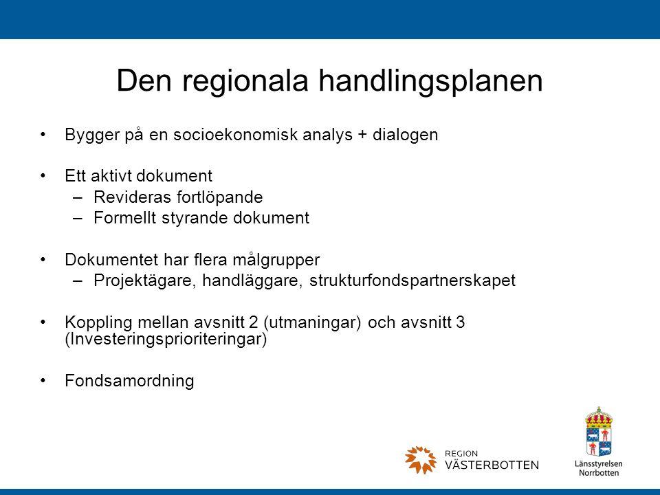 Den regionala handlingsplanen