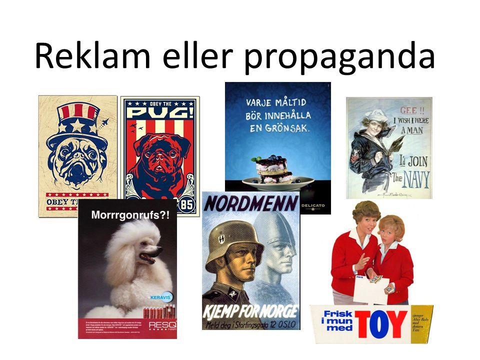 Reklam eller propaganda
