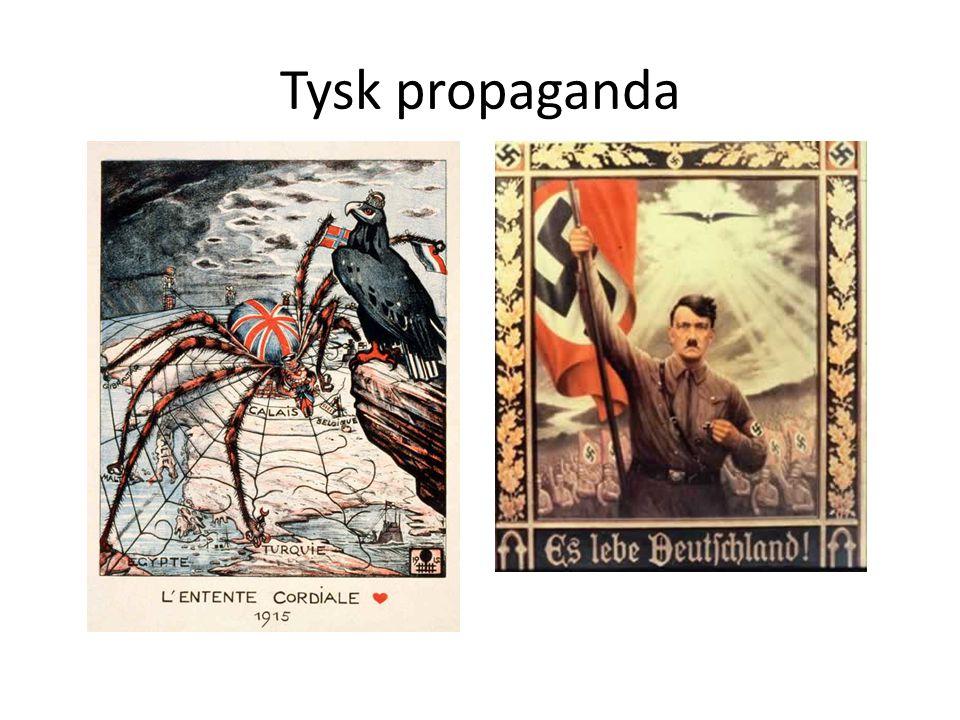 Tysk propaganda Tysk propaganda - Första & andra världskriget