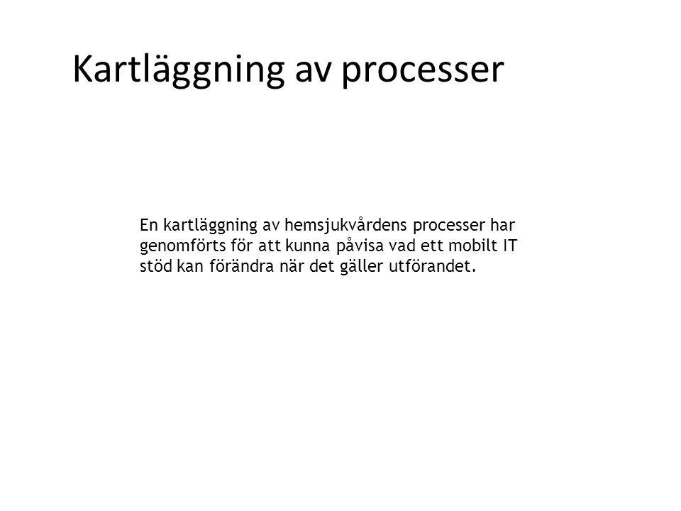 Kartläggning av processer