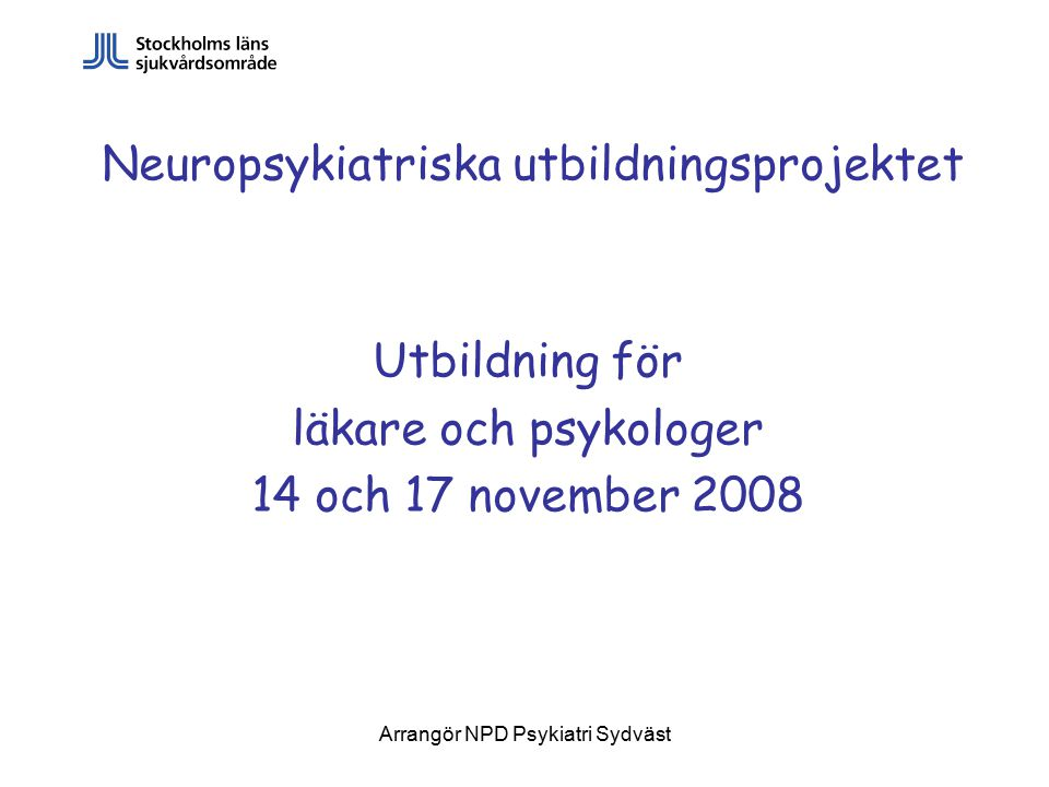 Neuropsykiatriska utbildningsprojektet