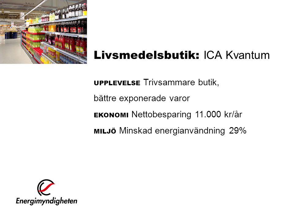Livsmedelsbutik: ICA Kvantum