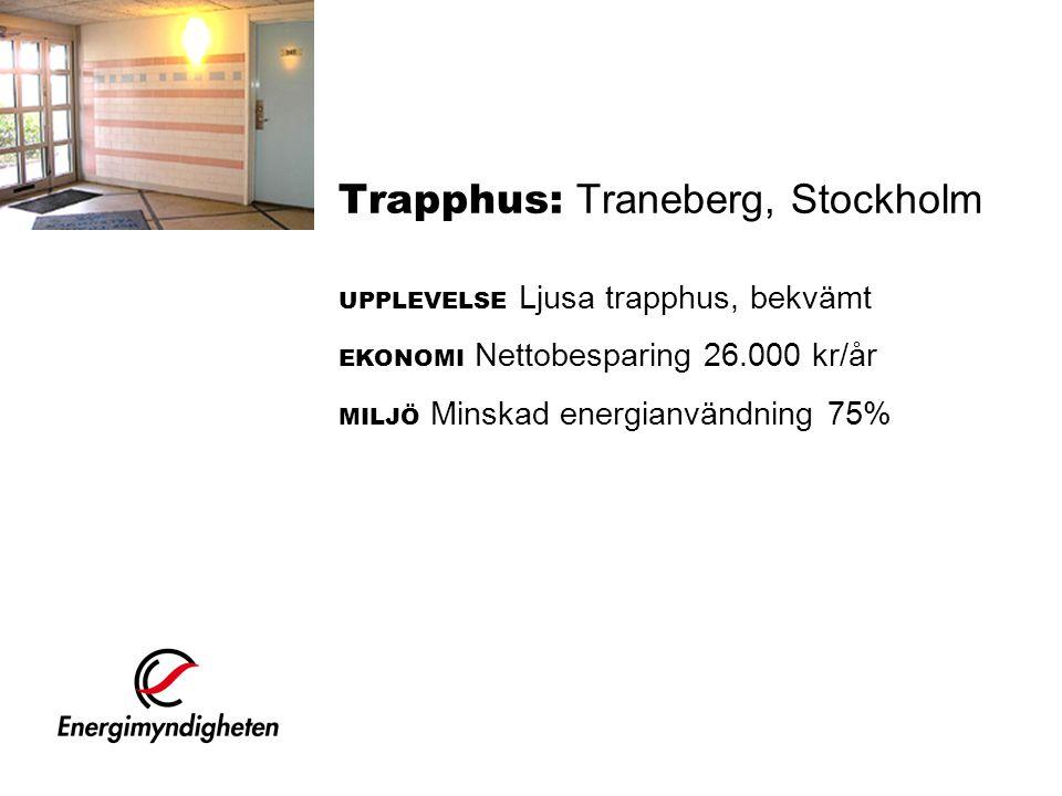 Trapphus: Traneberg, Stockholm