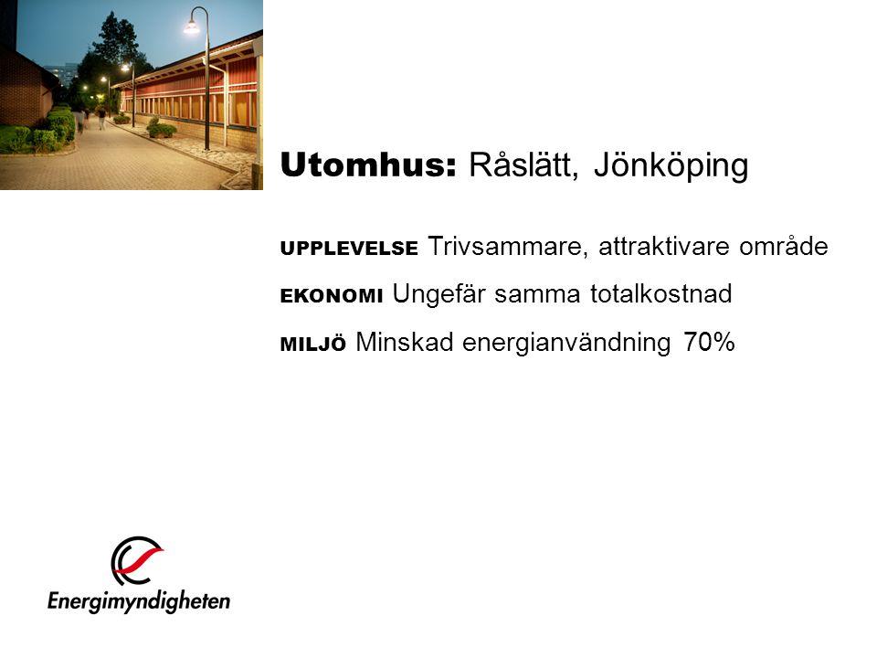 Utomhus: Råslätt, Jönköping