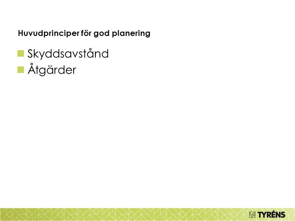 Huvudprinciper för god planering
