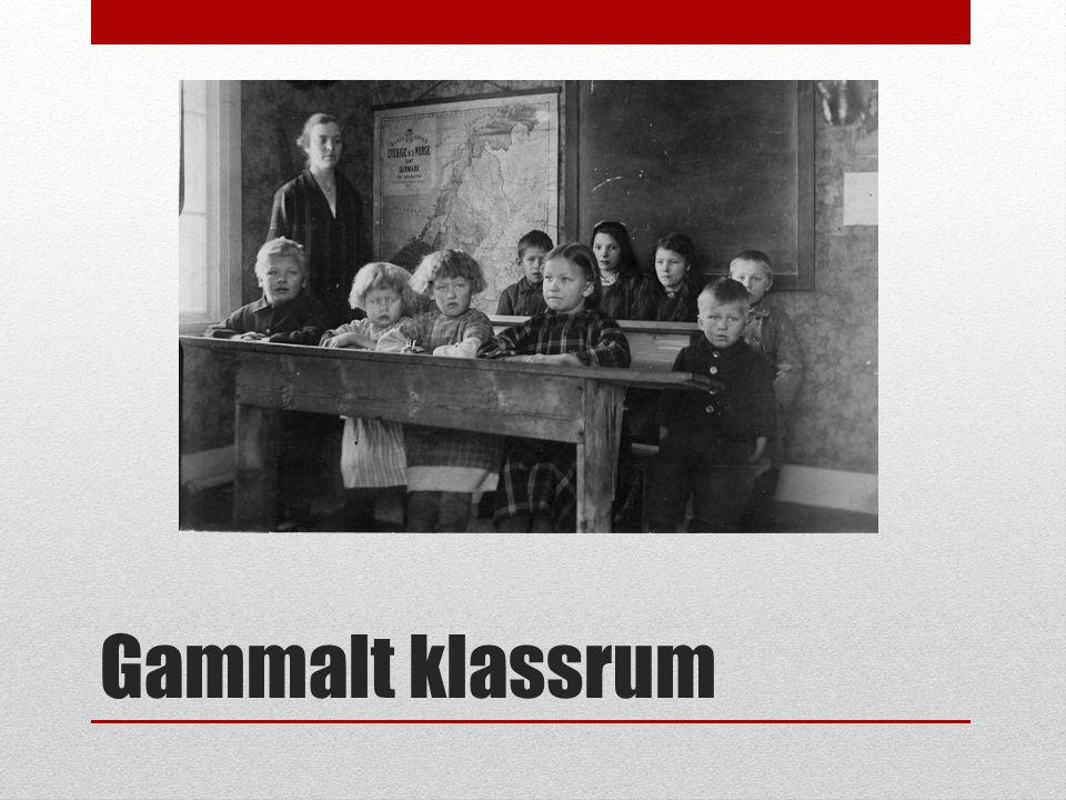 Gammalt klassrum