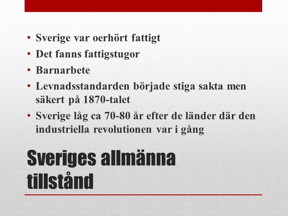 Sveriges allmänna tillstånd