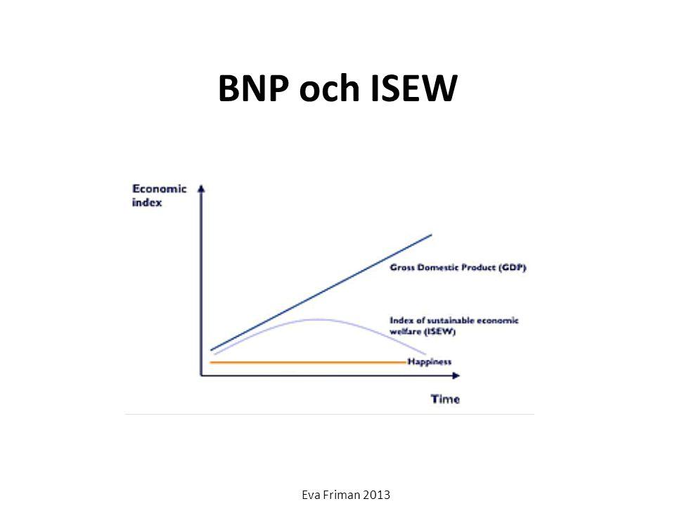 BNP och ISEW Eva Friman 2013