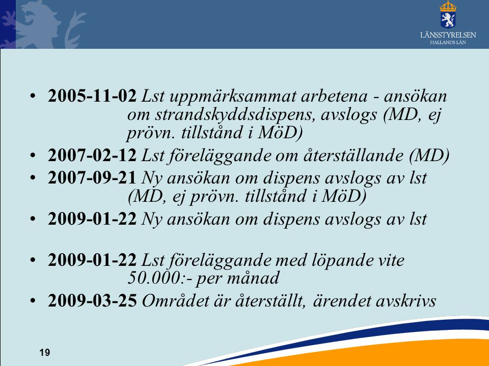 2005-11-02 Lst uppmärksammat arbetena - ansökan