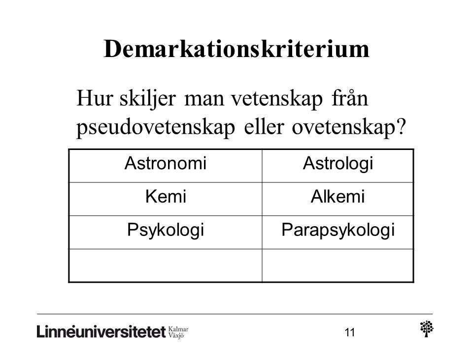 Demarkationskriterium