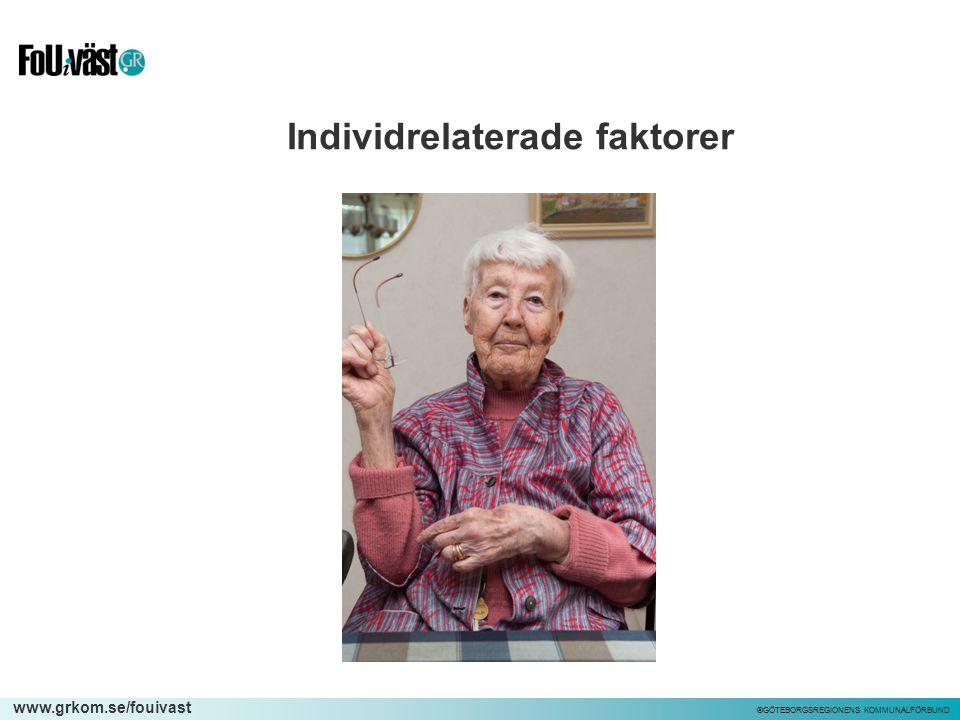 Individrelaterade faktorer