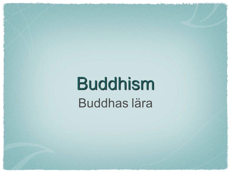 Buddhism Buddhas lära