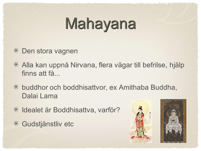 Mahayana Den stora vagnen