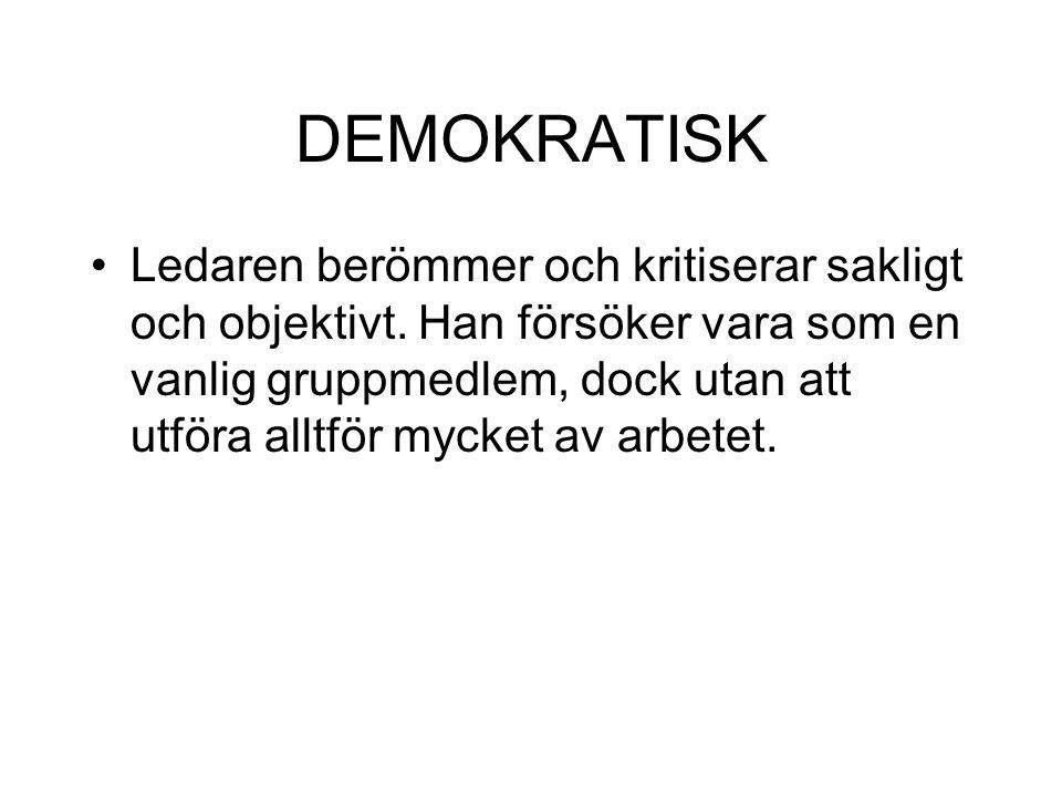 DEMOKRATISK