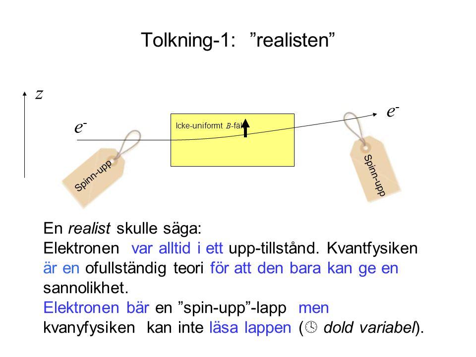 Tolkning-1: realisten