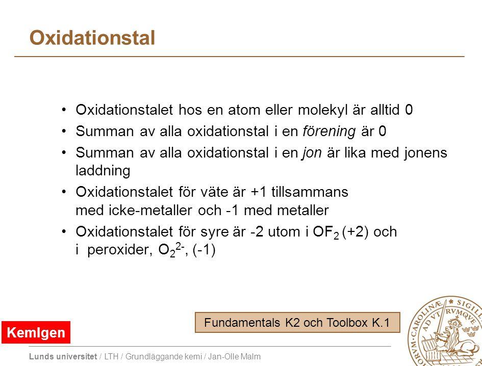 Fundamentals K2 och Toolbox K.1