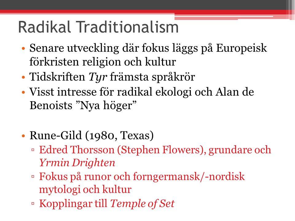 Radikal Traditionalism