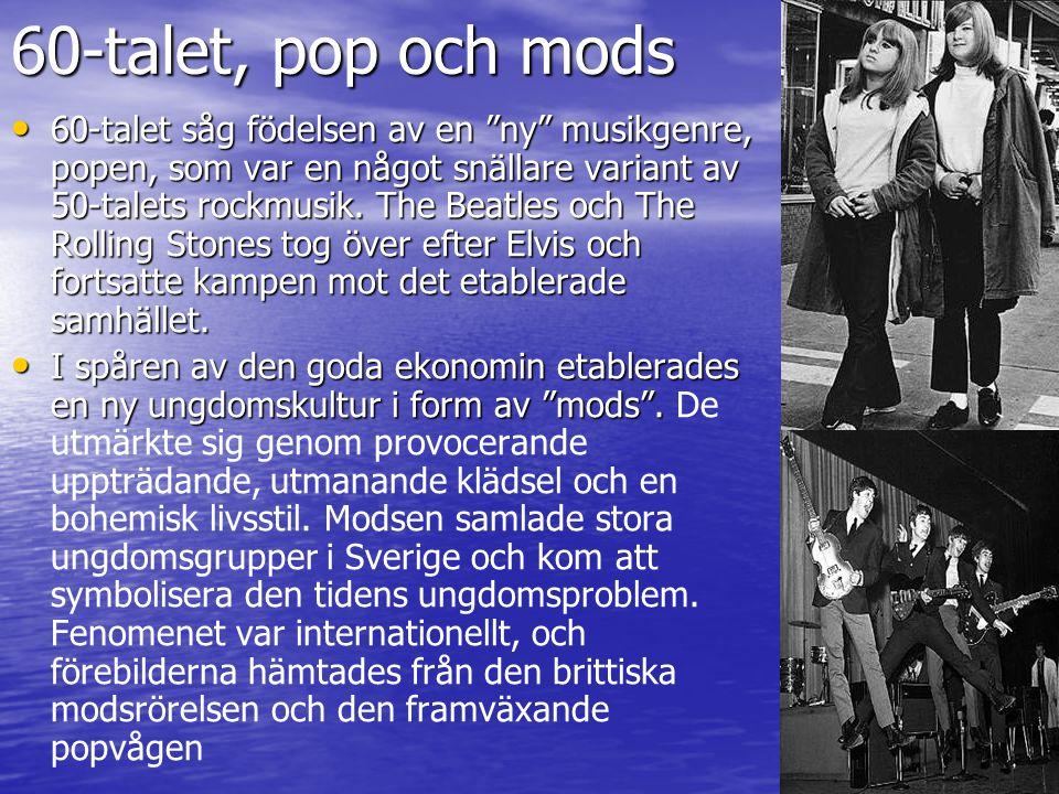 60-talet, pop och mods