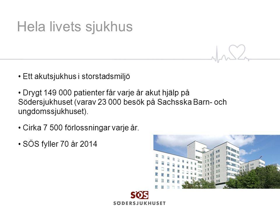 Hela livets sjukhus Ett akutsjukhus i storstadsmiljö