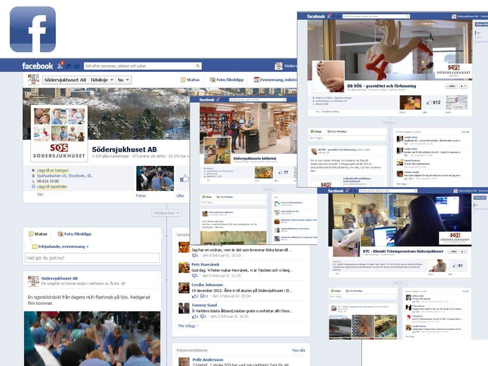 7 Vi började med facebook i 2010 - central SÖS-sida