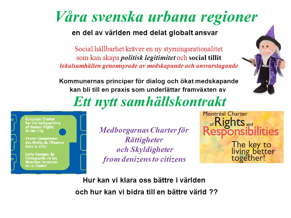 Våra svenska urbana regioner