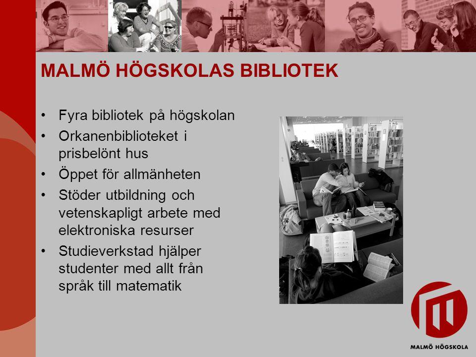 MALMÖ HÖGSKOLAS BIBLIOTEK