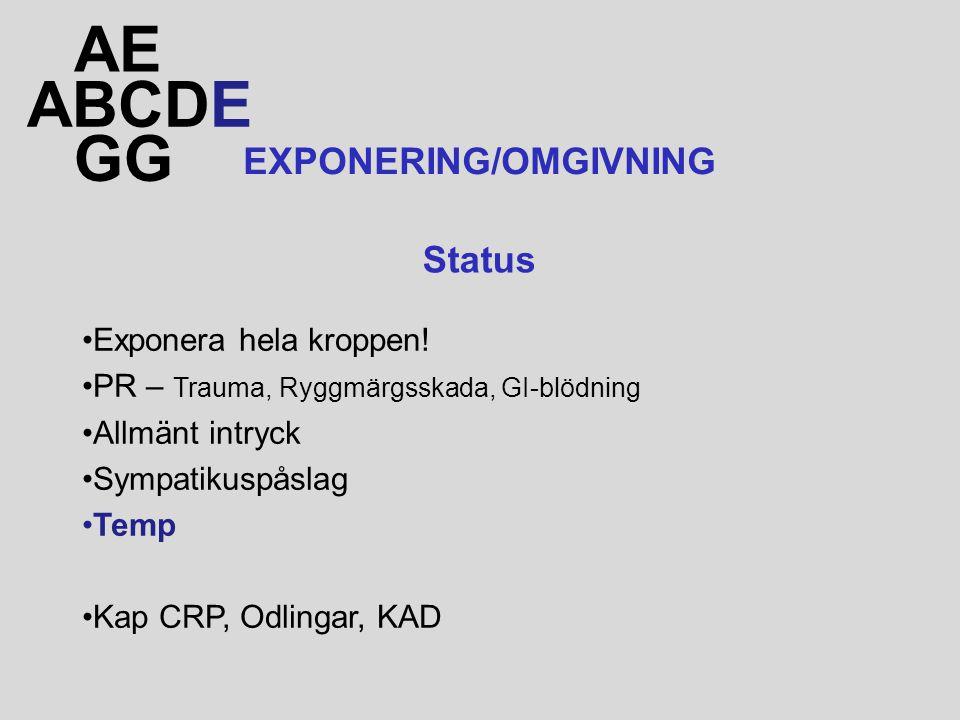 EXPONERING/OMGIVNING