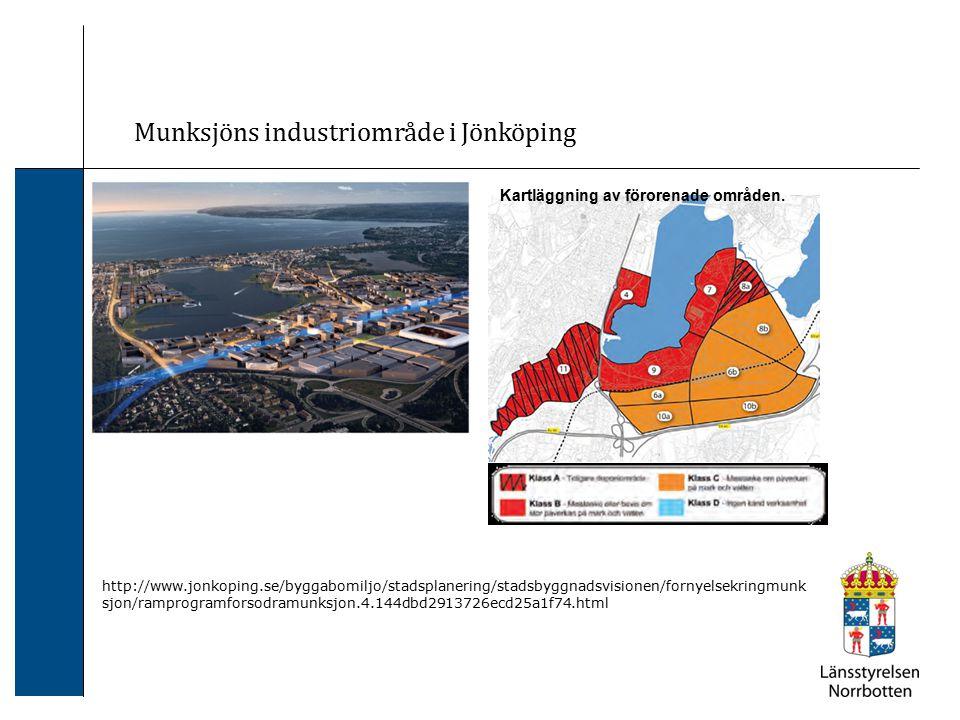 Munksjöns industriområde i Jönköping