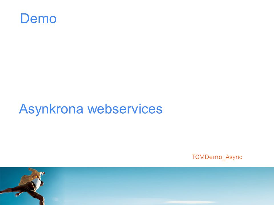 Asynkrona webservices