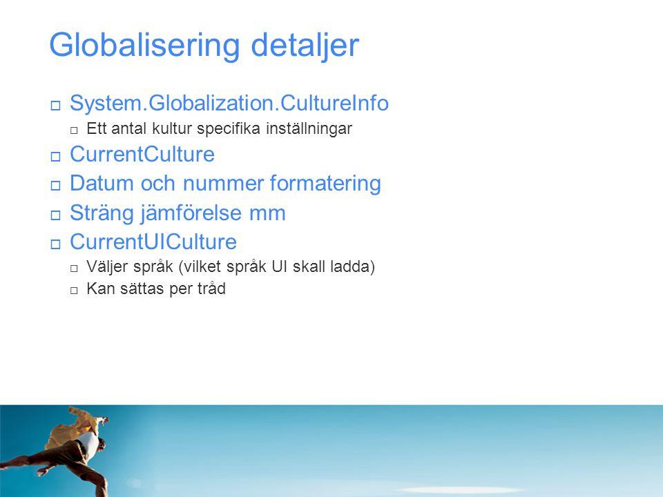 Globalisering detaljer