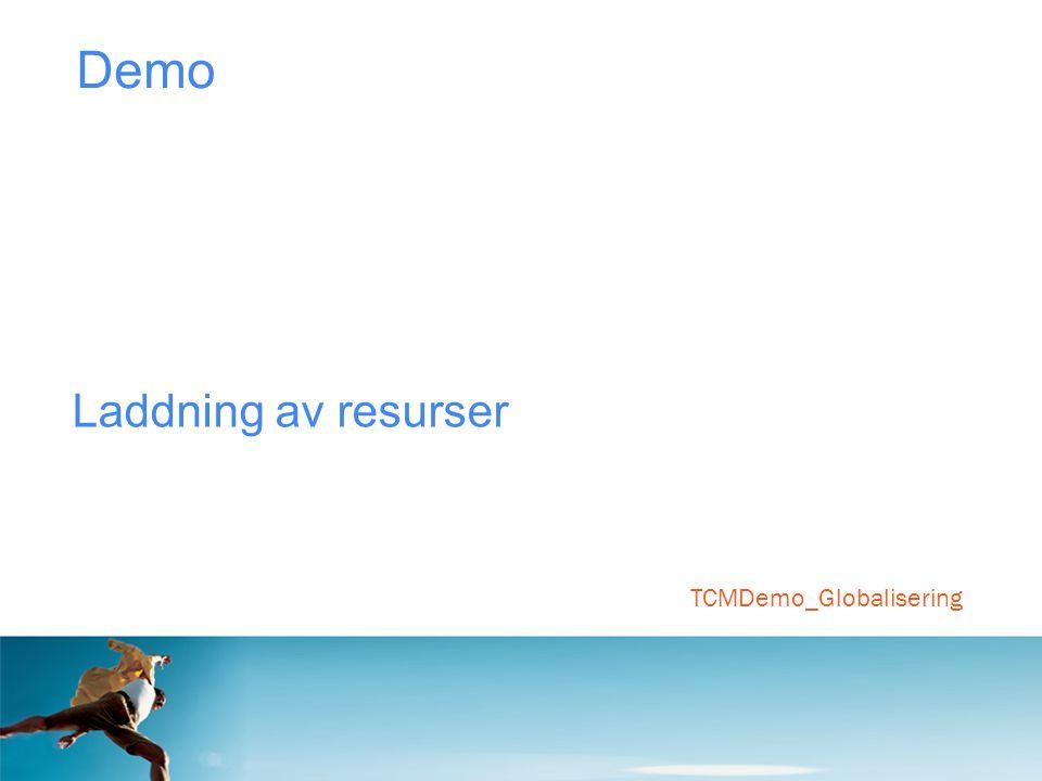 TCMDemo_Globalisering