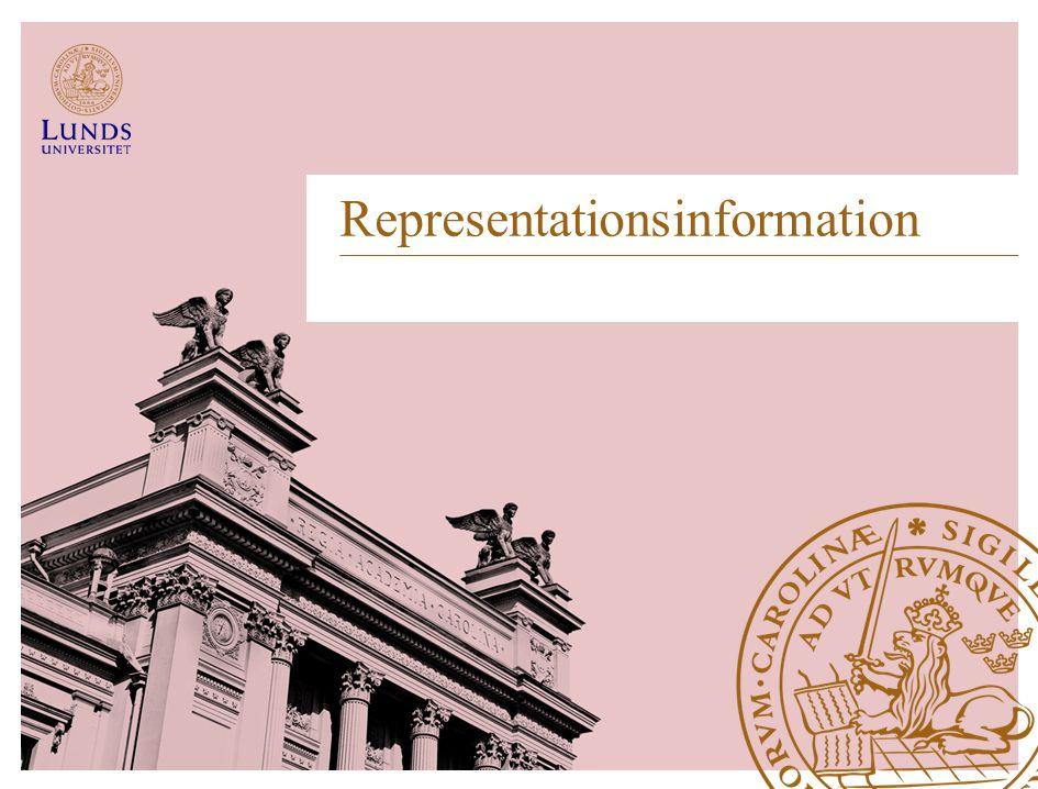 Representationsinformation