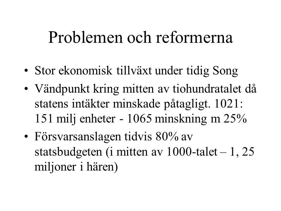 Problemen och reformerna
