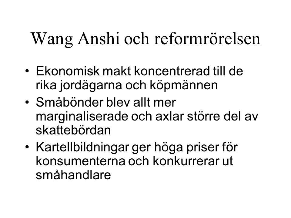 Wang Anshi och reformrörelsen