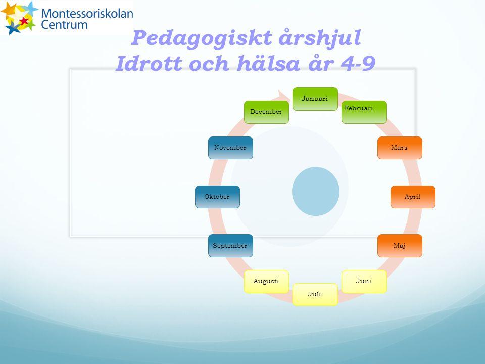 Pedagogiskt årshjul Idrott och hälsa år 4-9