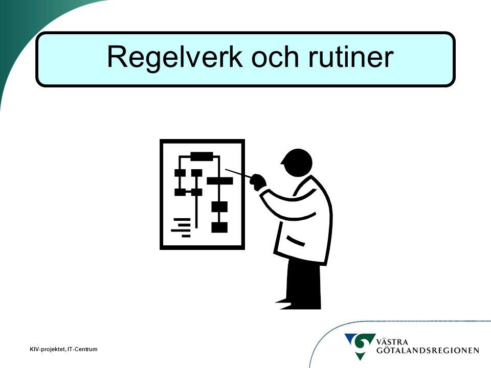 Regelverk och rutiner Här kan man prata om hur man har tänkt när man utvecklat regelverk och rutiner.