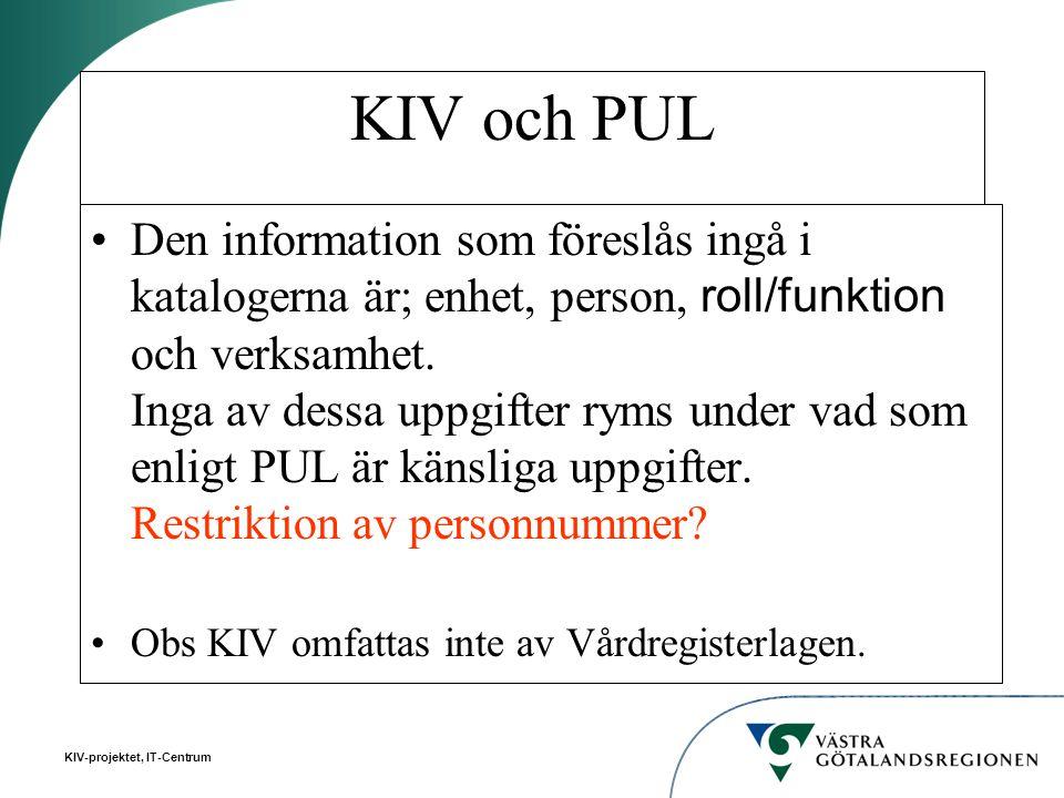 KIV och PUL