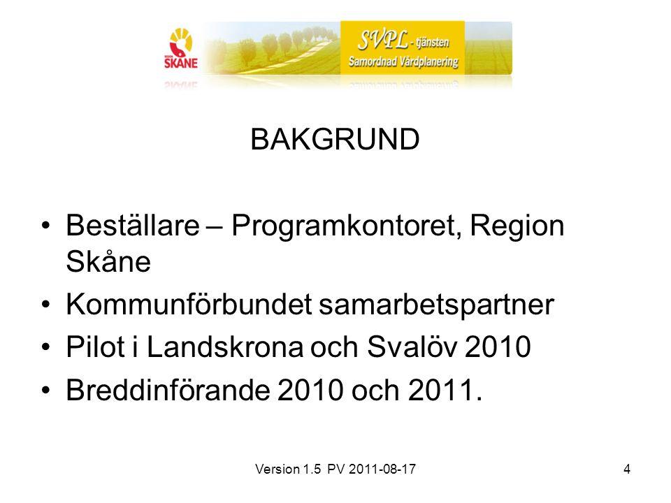 Beställare – Programkontoret, Region Skåne
