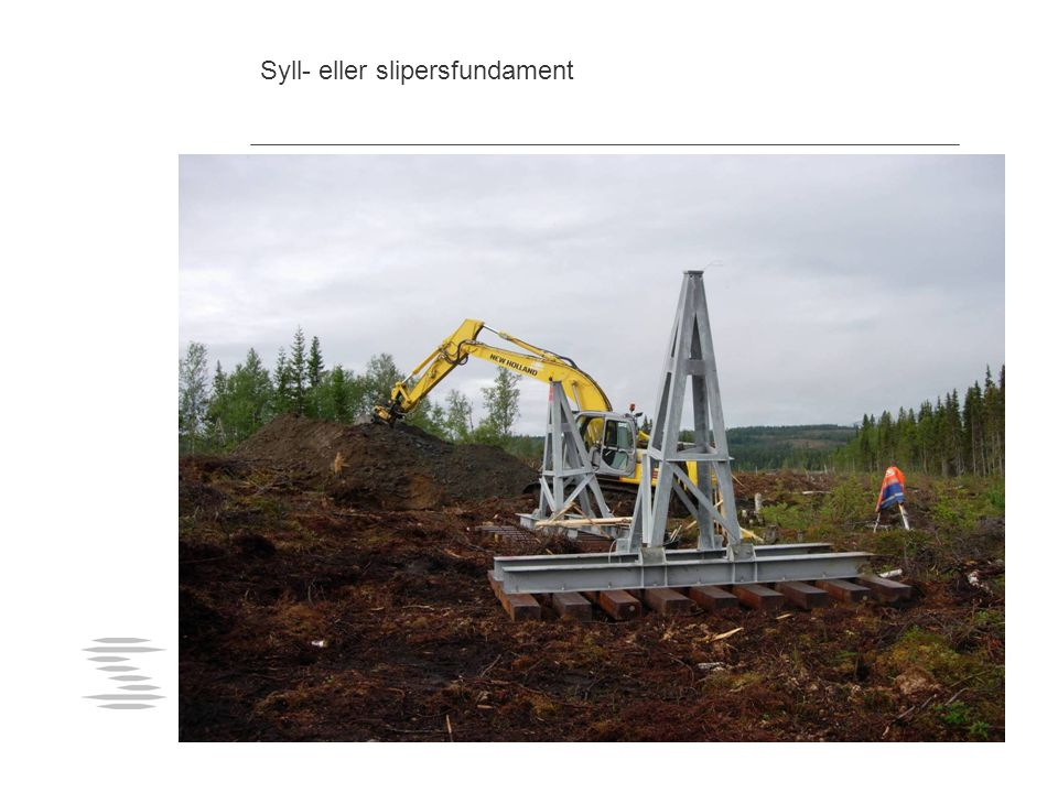 Syll- eller slipersfundament