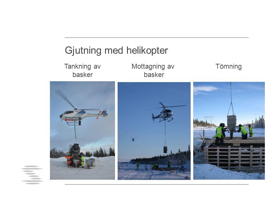 Gjutning med helikopter
