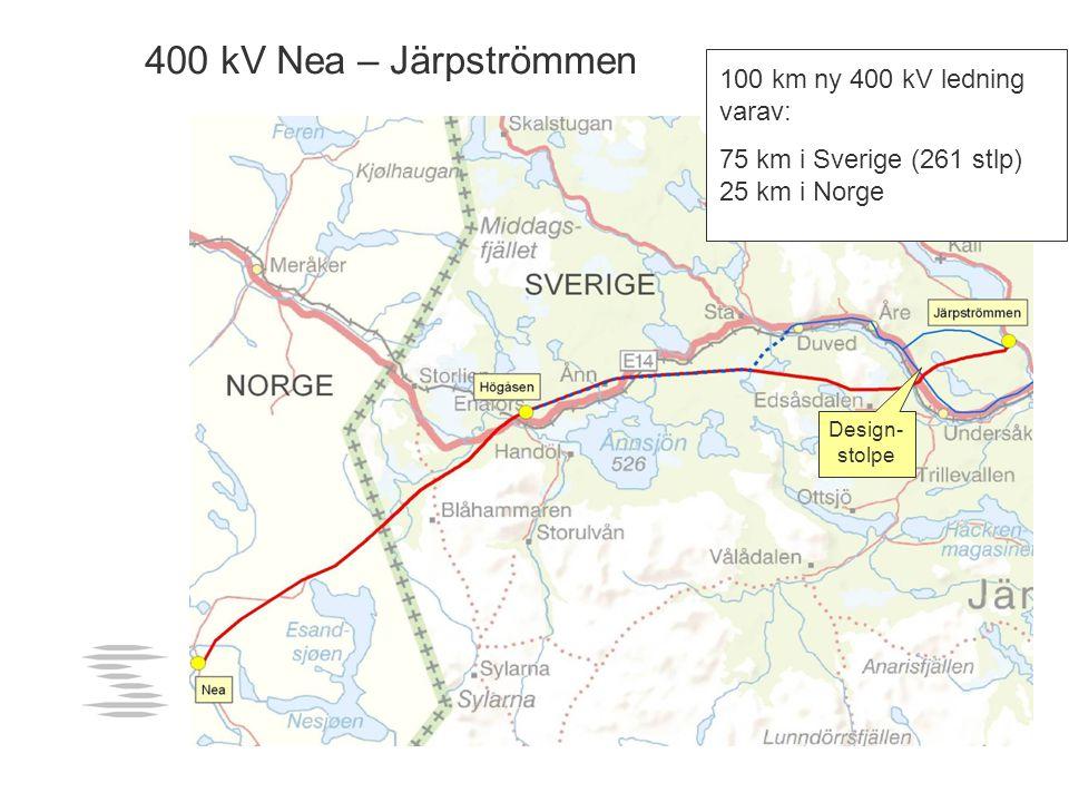 400 kV Nea – Järpströmmen 400 kV Nea - Järpströmmen