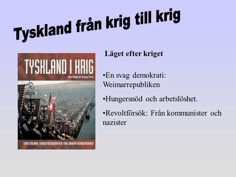Tyskland från krig till krig