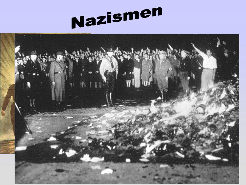 Nazismen En fascistisk och rasistisk ideologi.