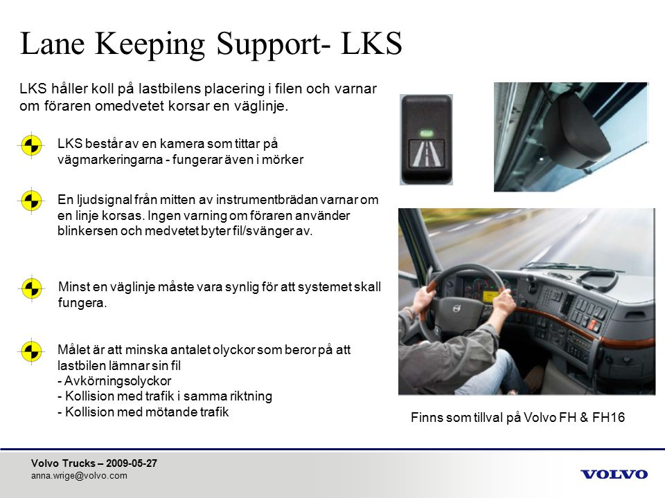 Lane Keeping Support- LKS