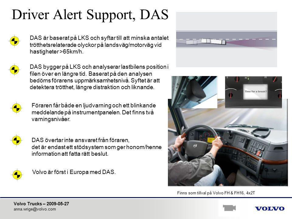 Driver Alert Support, DAS