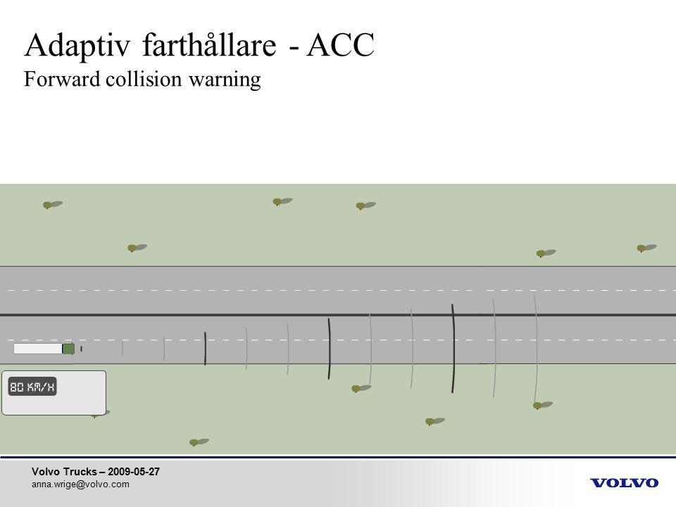 Adaptiv farthållare - ACC