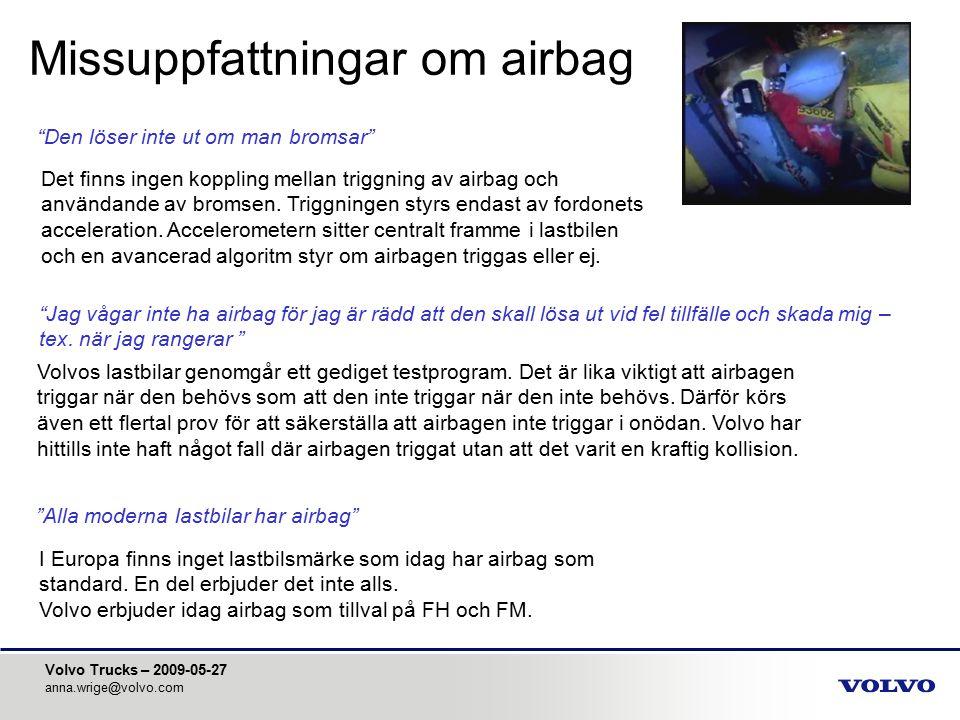 Missuppfattningar om airbag
